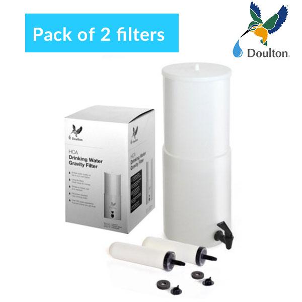 Doulton-HCA-Gravity-Filter-2-pack