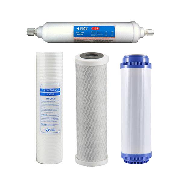 Reverse-osmosis-replacement-filter-set-1